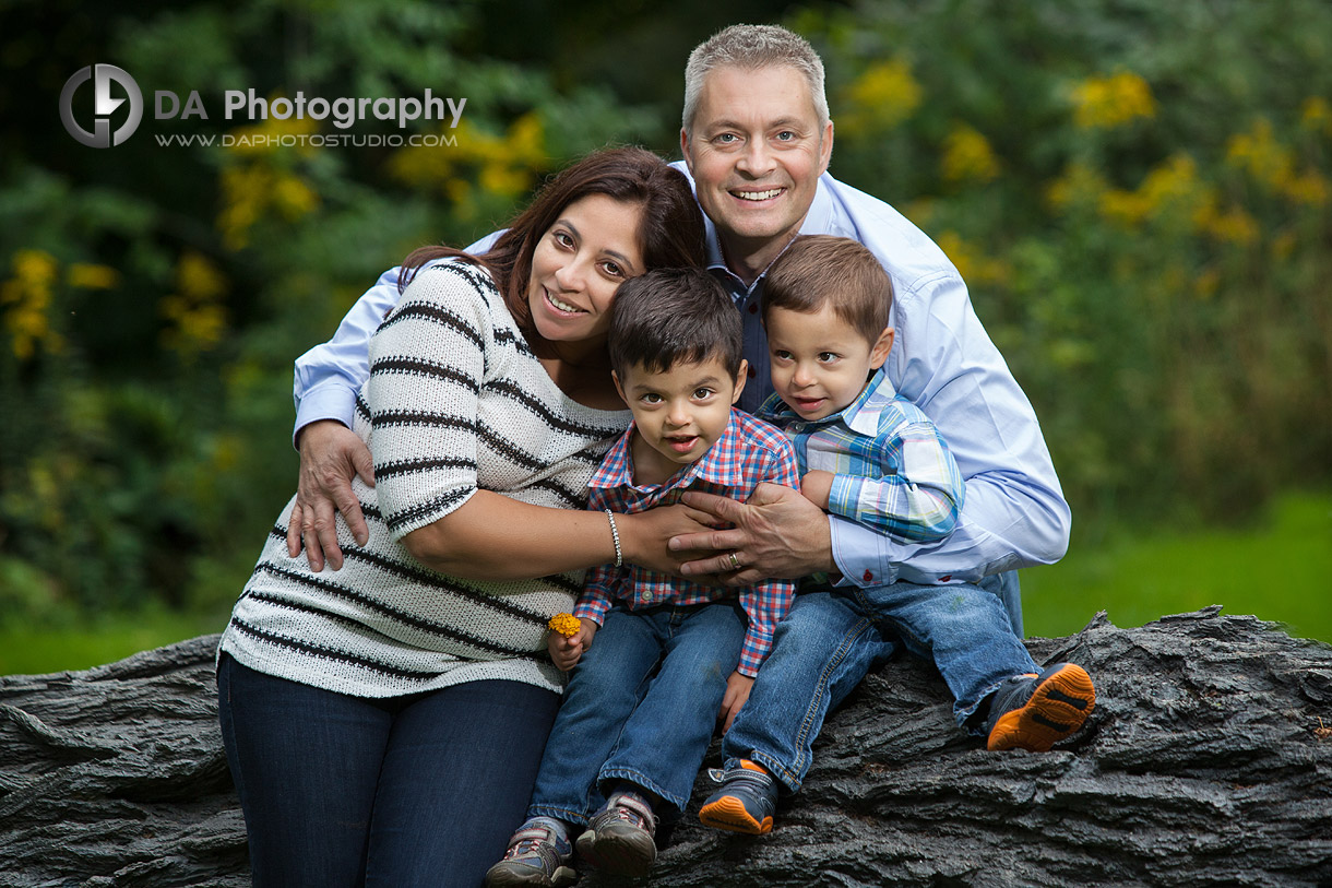 Family photo locations in Oakville
