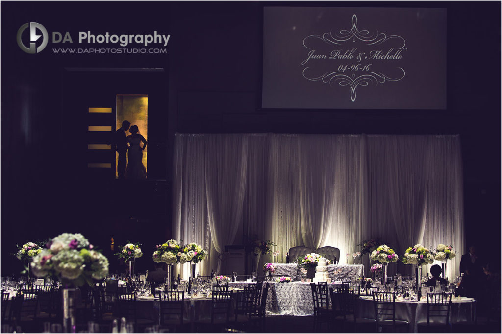 Bride and Groom at Universal Event Space by Peter and Paul's