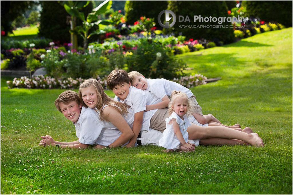 Top Family Photographer in Oakville