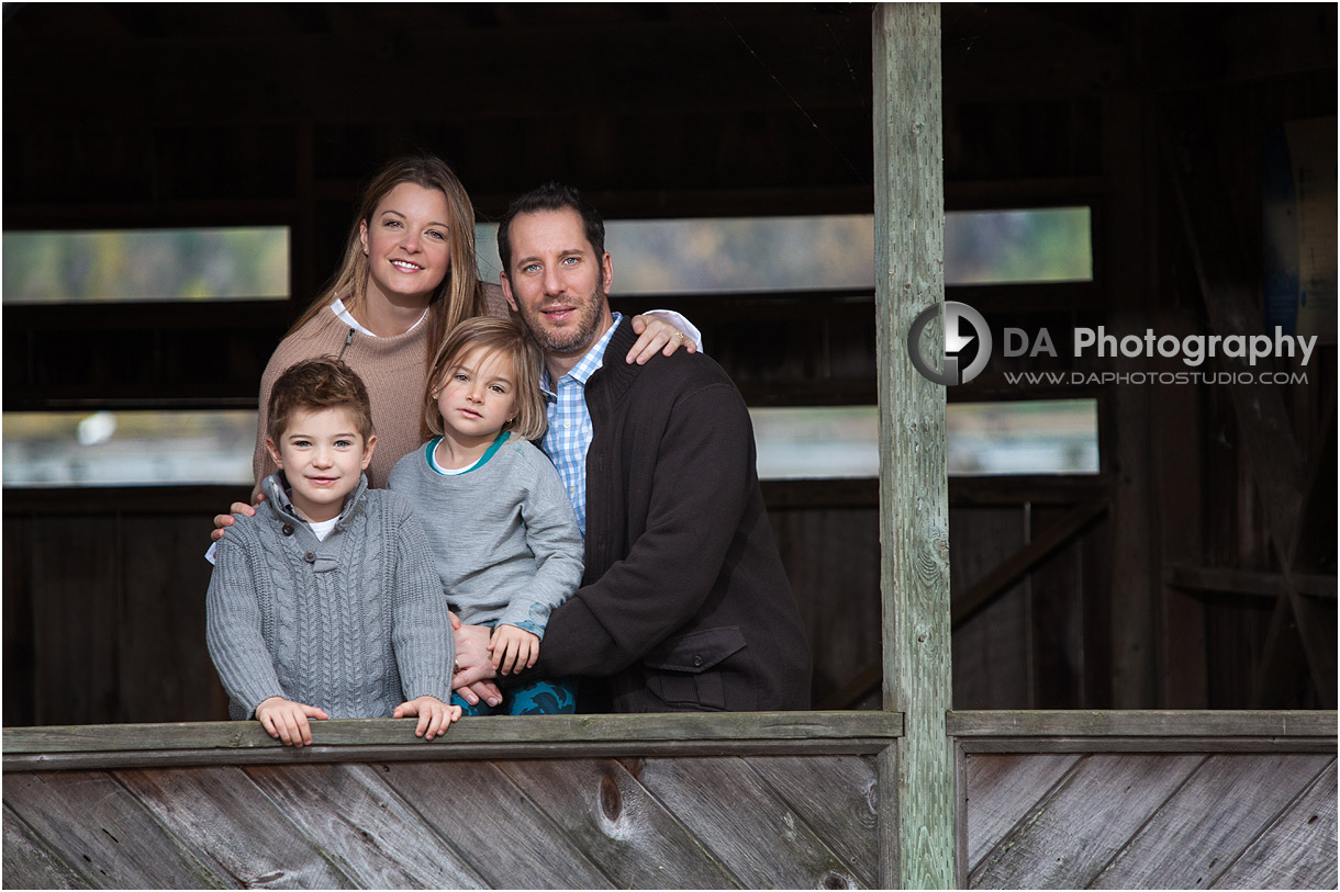 Fall Family Portraits in Milton