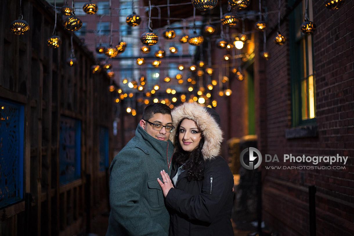Best Winter Engagement Locations in Toronto
