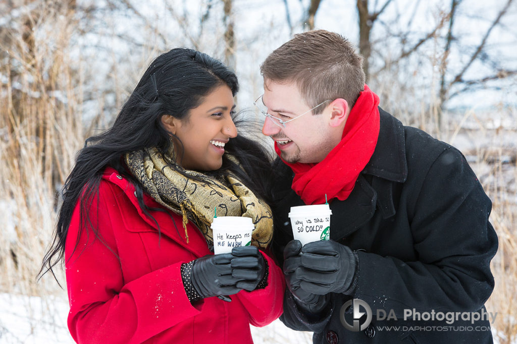 Best Photographers for Paletta Mansion Winter Engagement