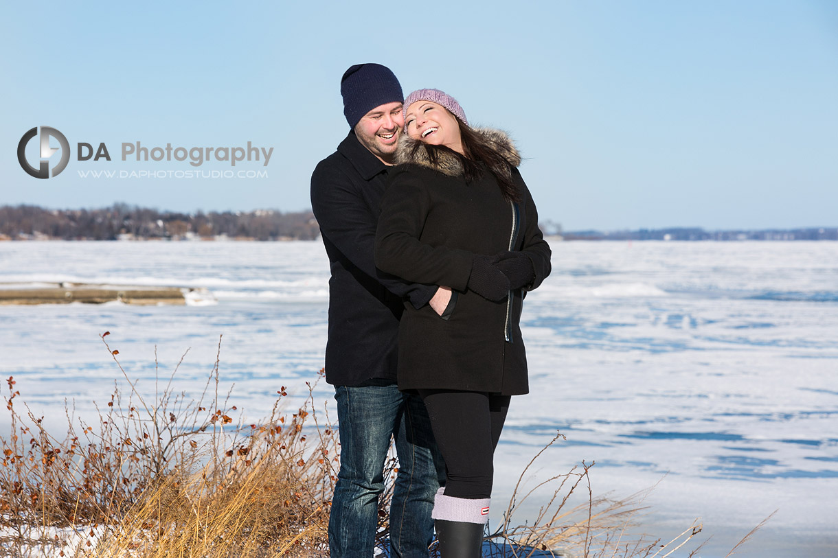Port Perry Engagement Photo