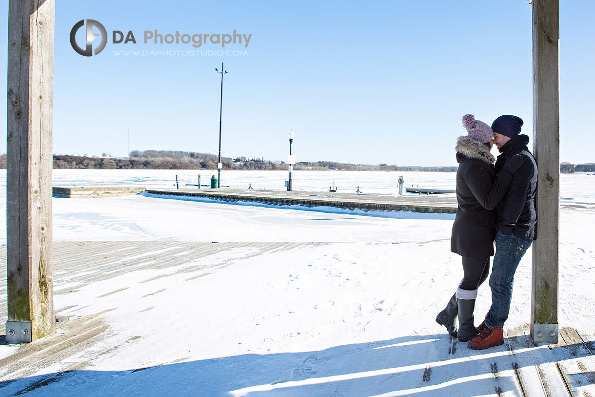 Winter Port Perry Engagement