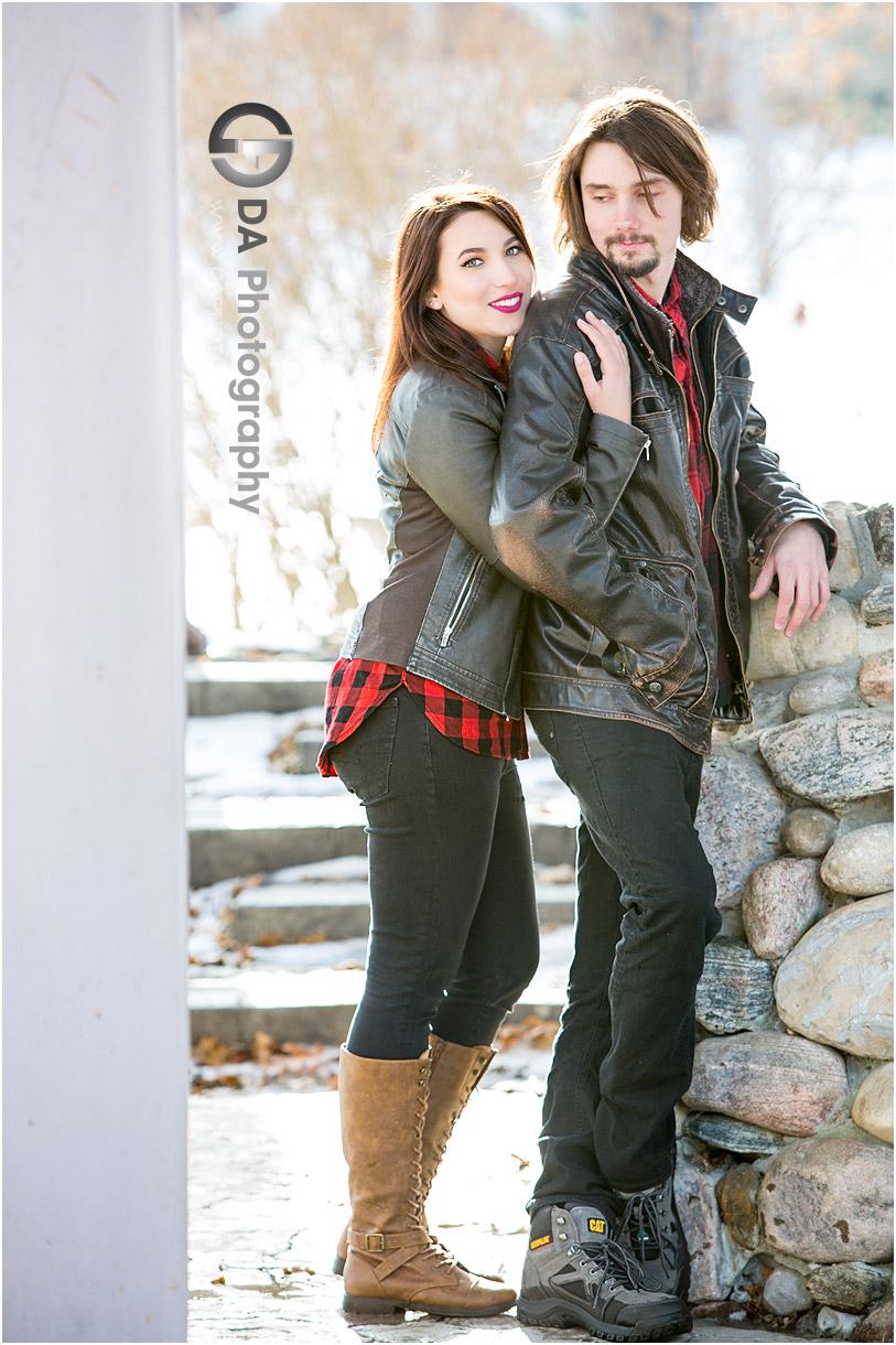 Guelph Winter Engagement Photos