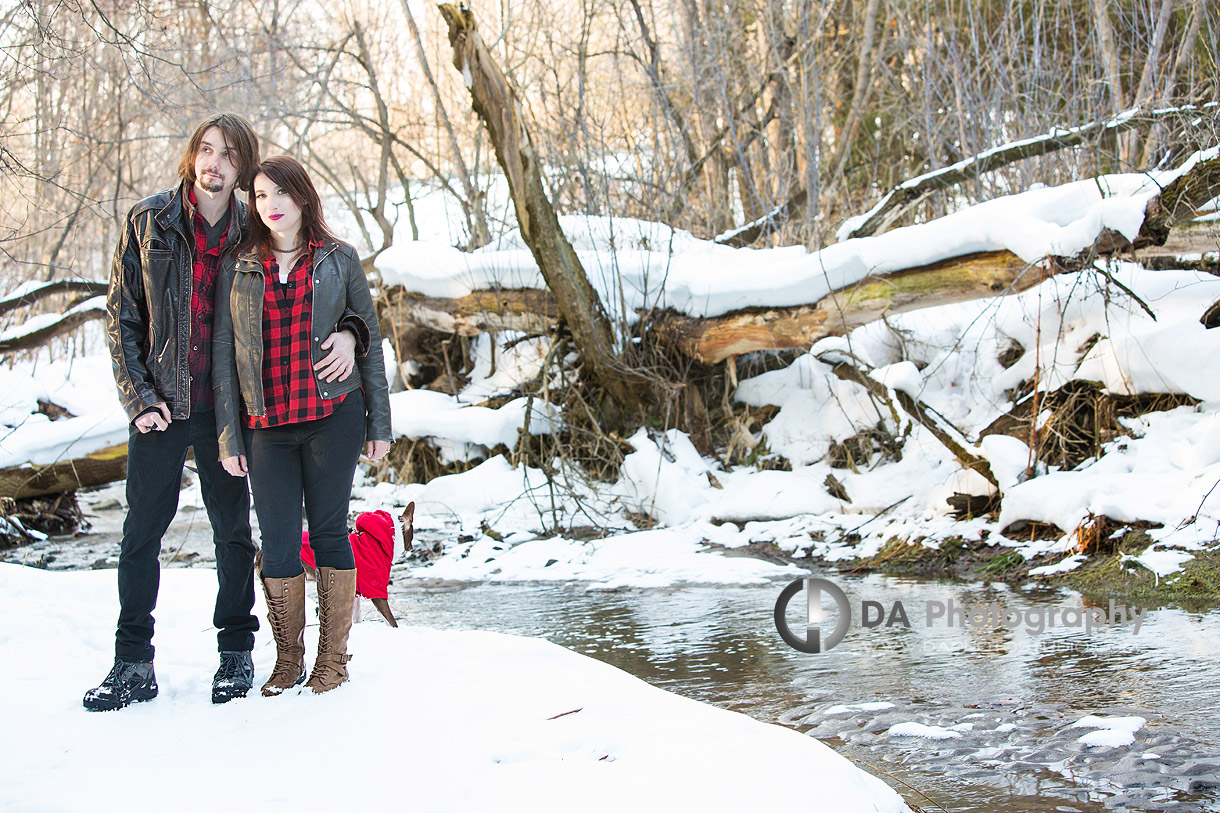 Winter Engagement Photography in Guelph