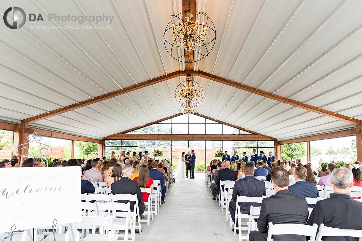 Wedding Ceremonies at Whistle Bear in Cambridge