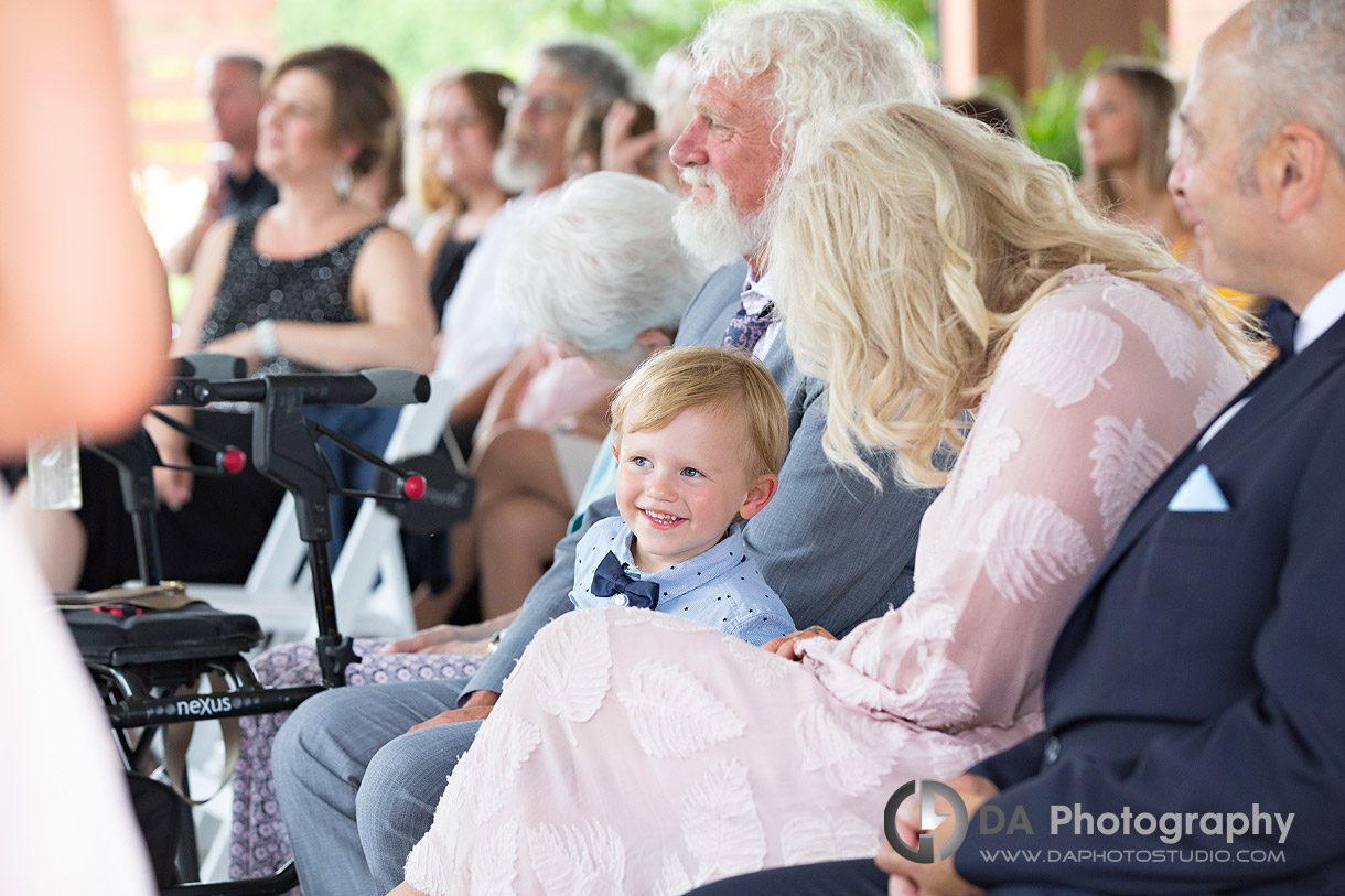Wedding Ceremony at Whistle Bear