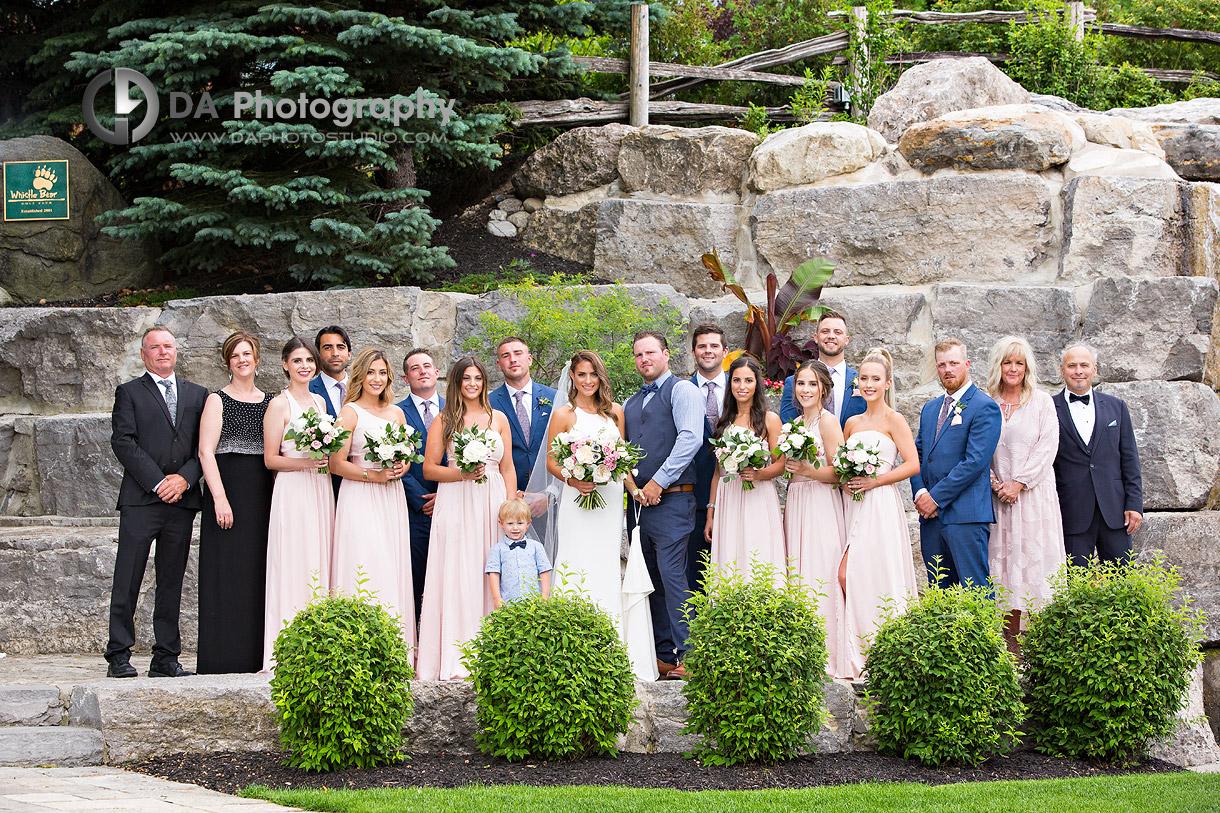 Whistle Bear Wedding Photo