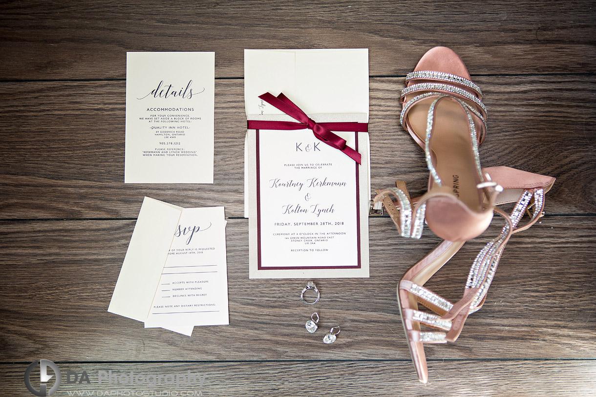 Details at Stoney Creek Wedding
