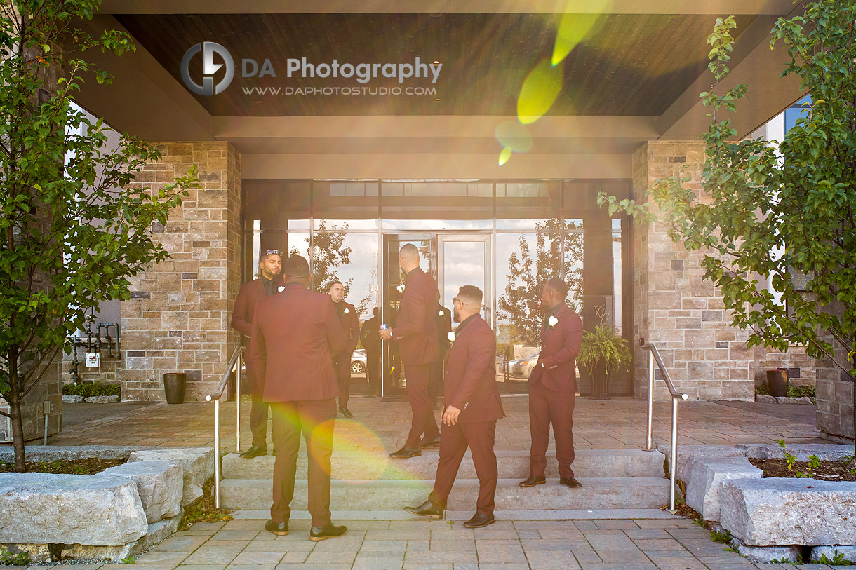 Groomsmans at Croatian Sports and Community Centre