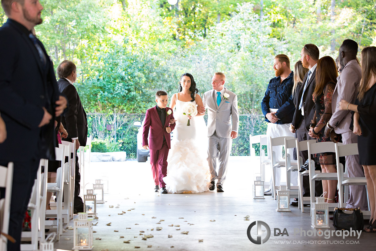 Outdoor Wedding at Croatian Sports and Community Centre