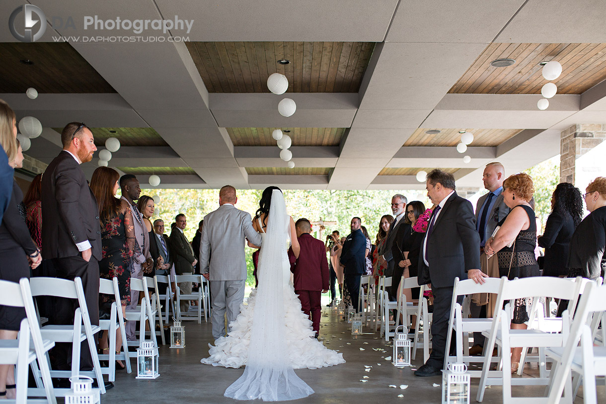 Croatian Sports and Community Centre Outdoor Wedding
