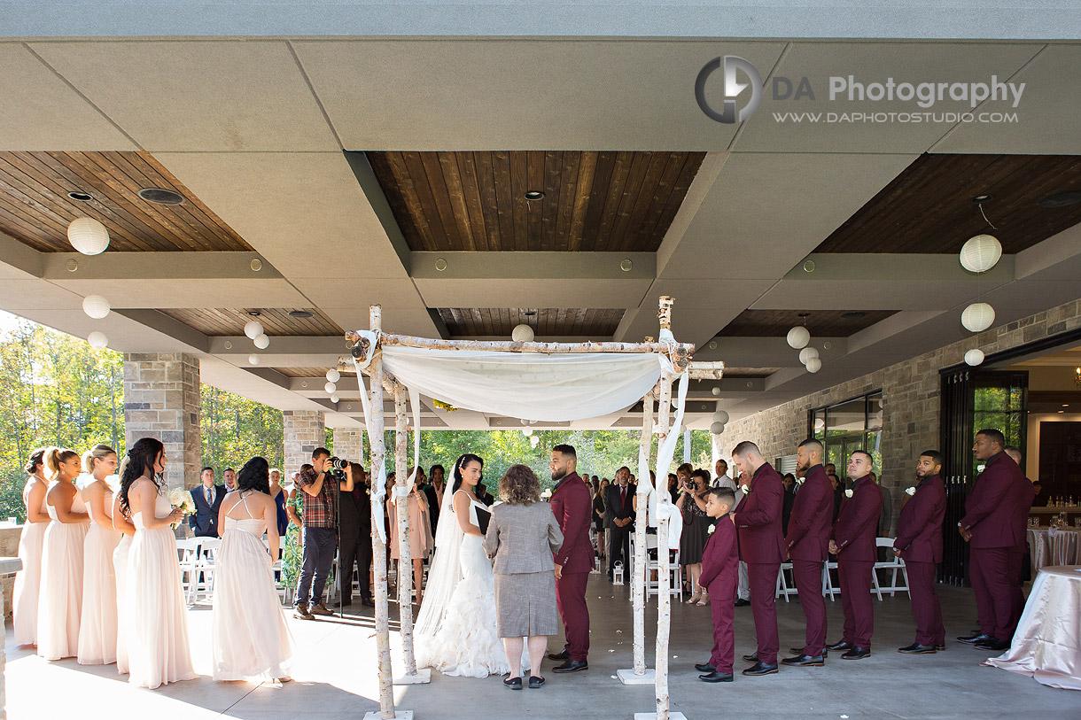 Croatian Sports and Community Centre Garden Wedding