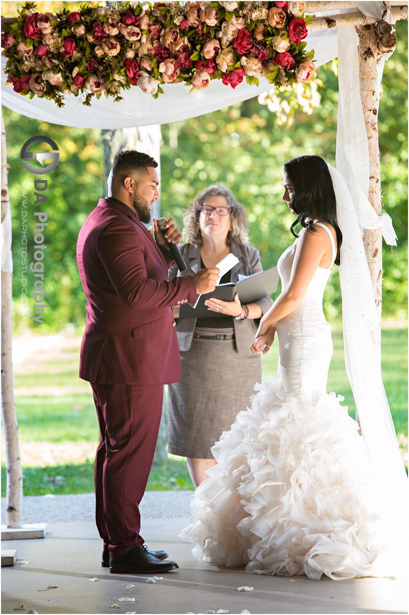 Stoney Creek Wedding Ceremony