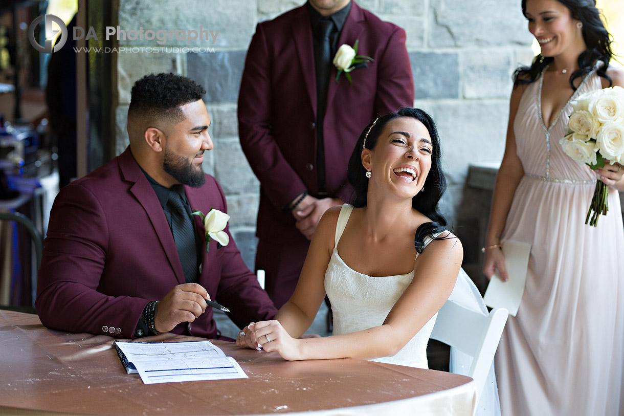Wedding Ceremony in Stoney Creek
