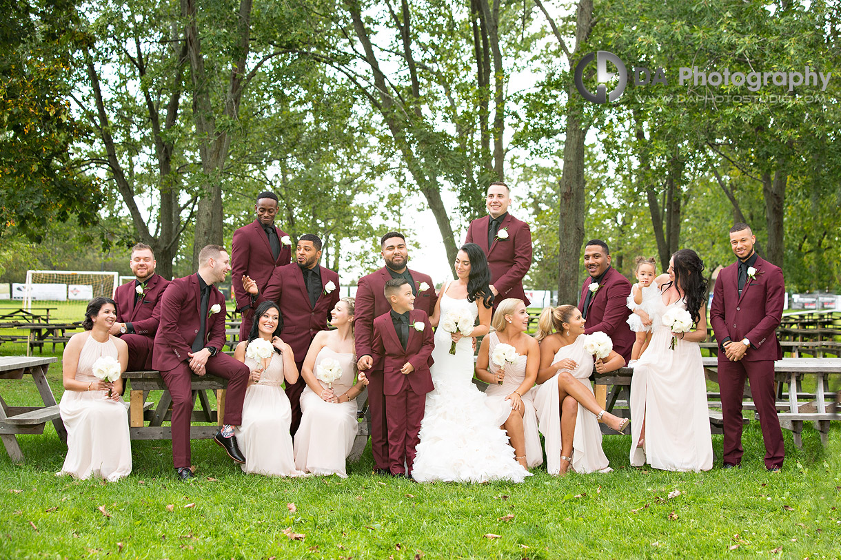 Bridal Party at Croatian Sports and Community Centre