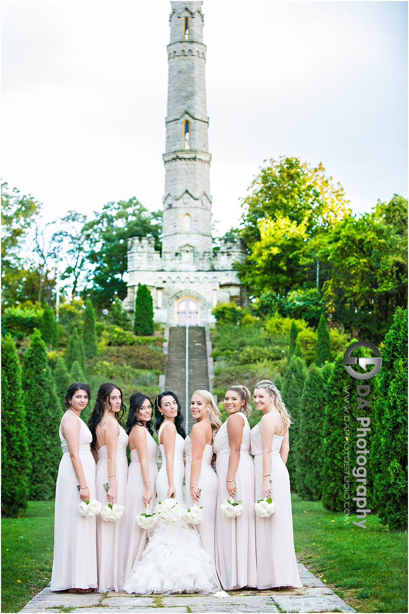Bridesmaids at Battlefield House Museum