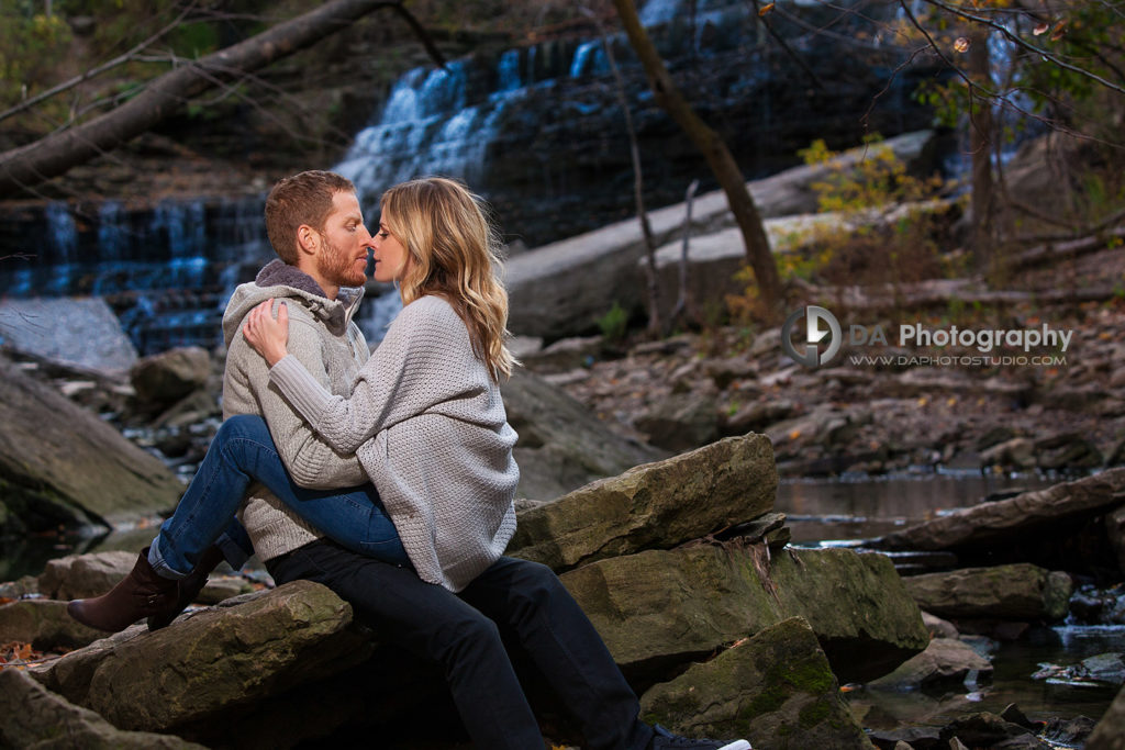 Engagement Photos at Albion Falls