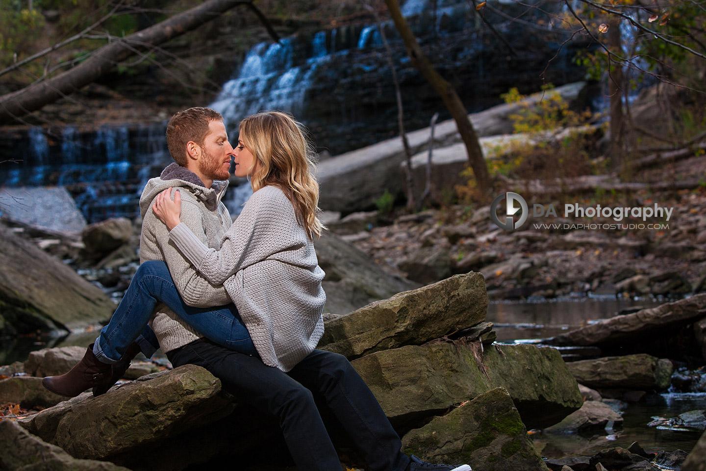 Engagement Photos at Albion Falls