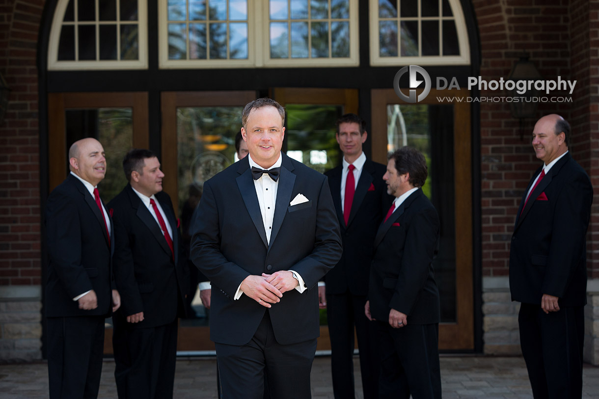 Groom at Burlington Golf and Country Club