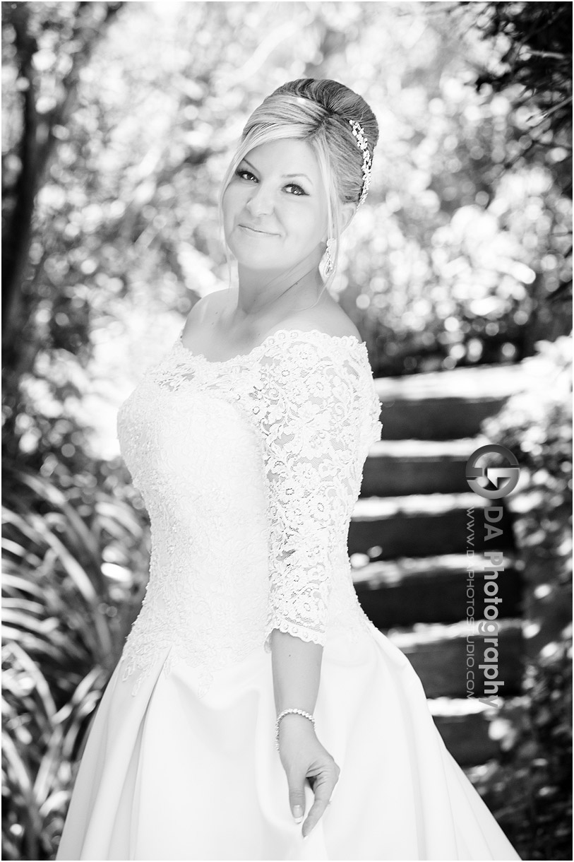 Bride at Burlington Golf and Country Club
