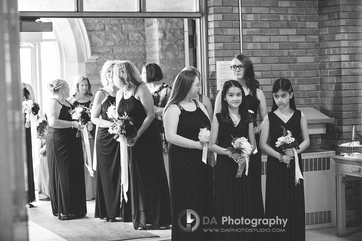 Photographer for Church Weddings in Burlington