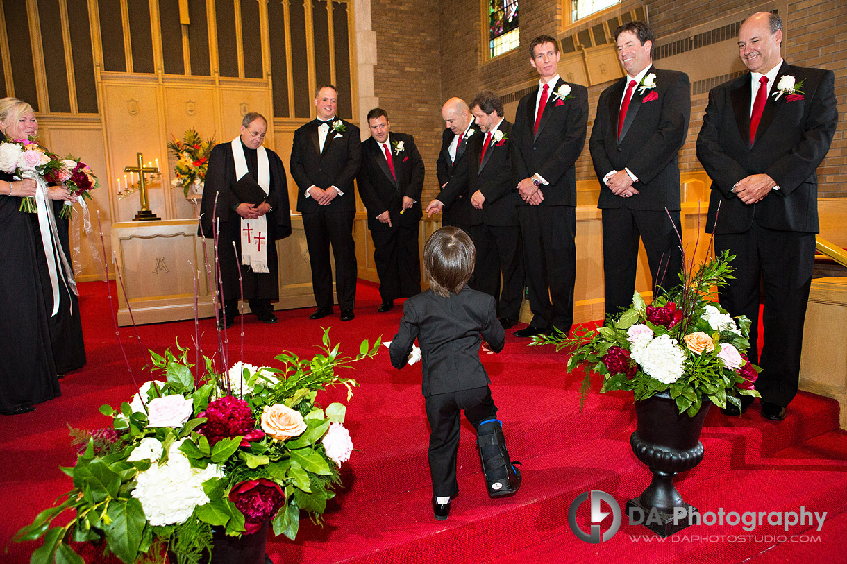 Photographer for Church Weddings in Waterdown