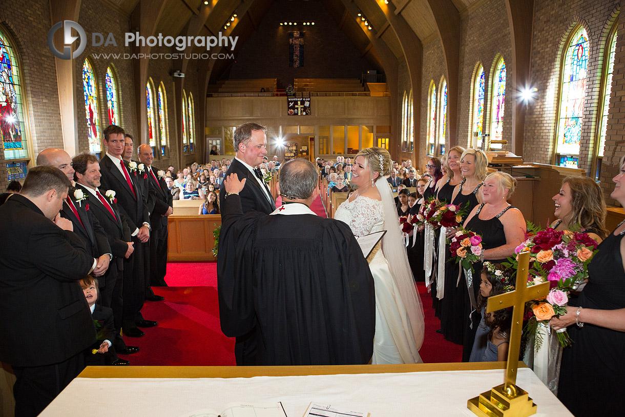 Wedding Ceremony at St. Joseph Church