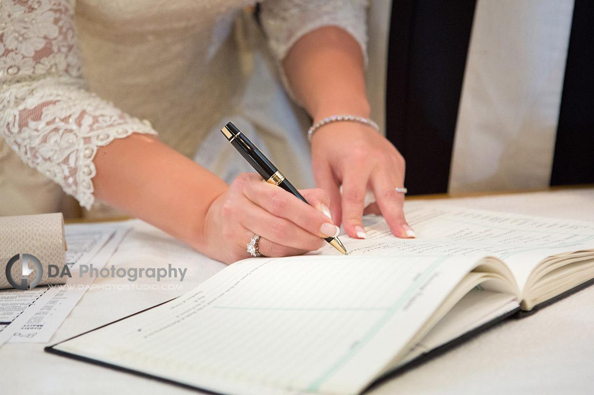 Waterdown Church Wedding Ceremonies