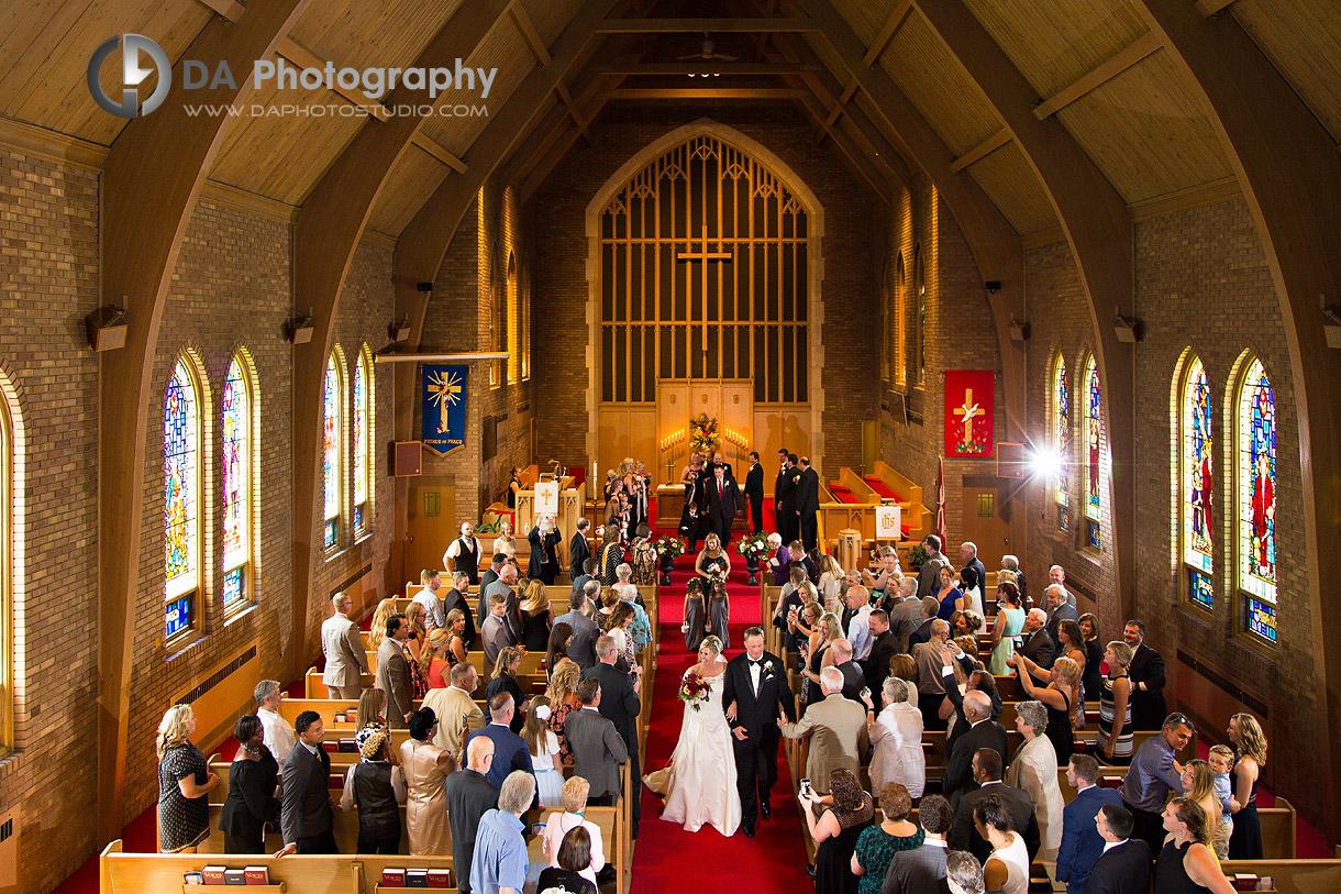 Waterdown Church Wedding Ceremony