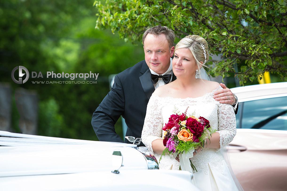 Bride and Groom in Burlington
