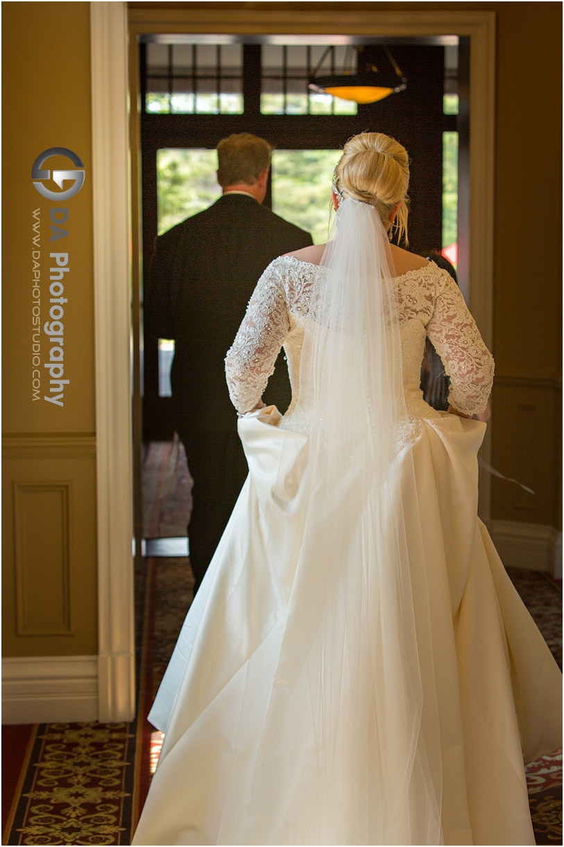 Wedding Dress at Burlington Golf and Country Club