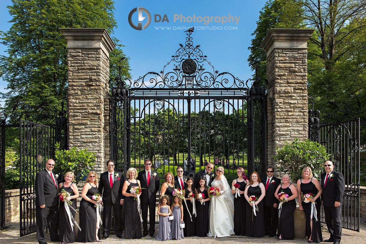 Bridal Party at Royal Botanical Gardens