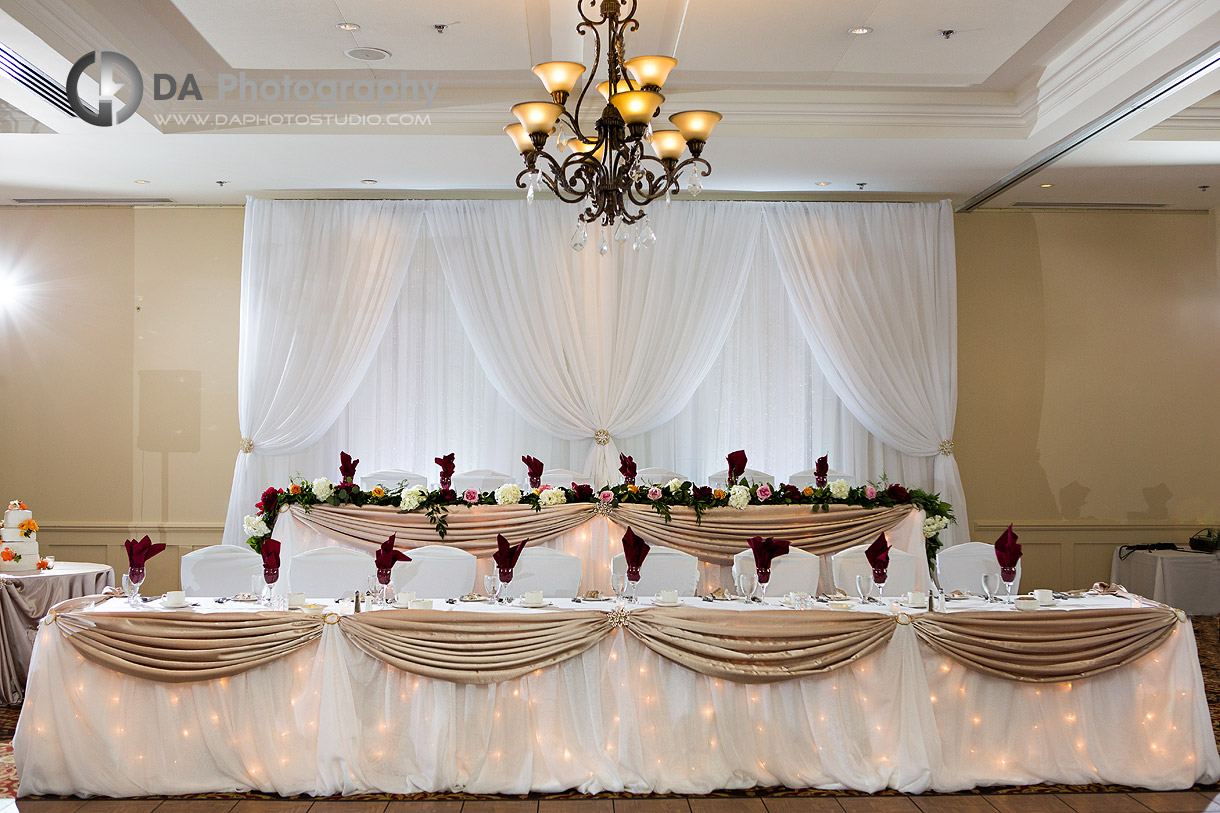 Wedding Reception at Burlington Golf and Country Club
