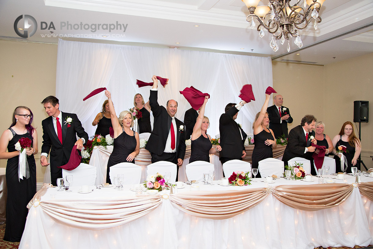 Burlington Wedding Reception