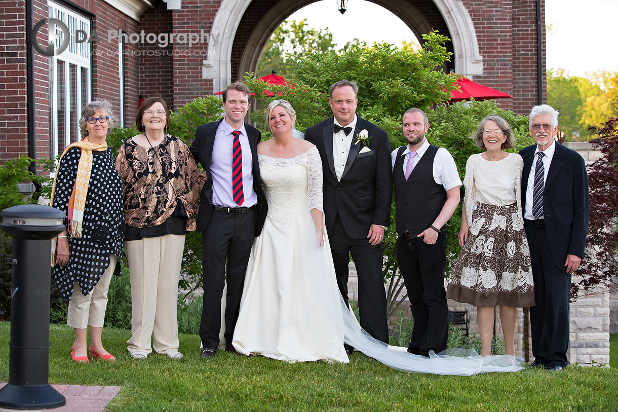Outdoor Wedding at Burlington Golf and Country Club