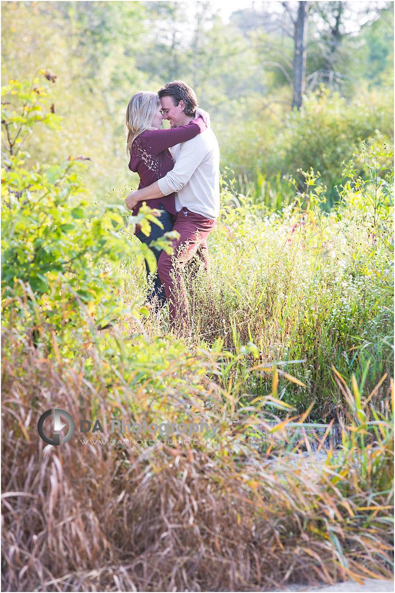 Engagement Photos at Ball's Falls