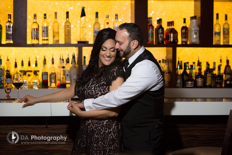 Engagement Photos at Proof Bar