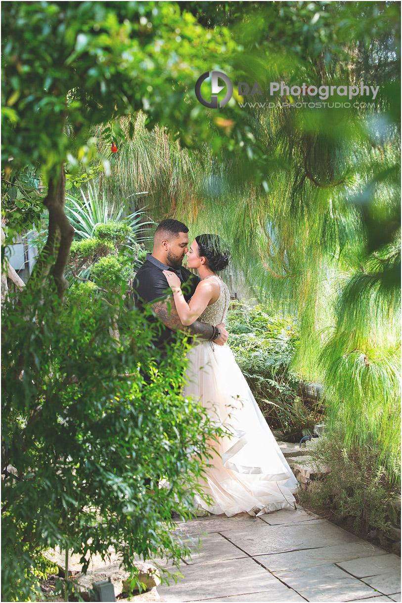 Engagement Photos at Royal Botanical Garden