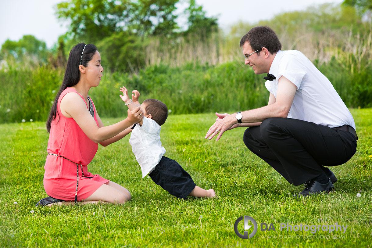 Spring Family Photos in Toronto
