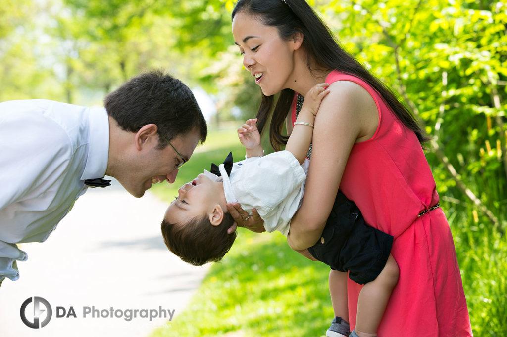 Spring Family Photos at Humber Bay East Park