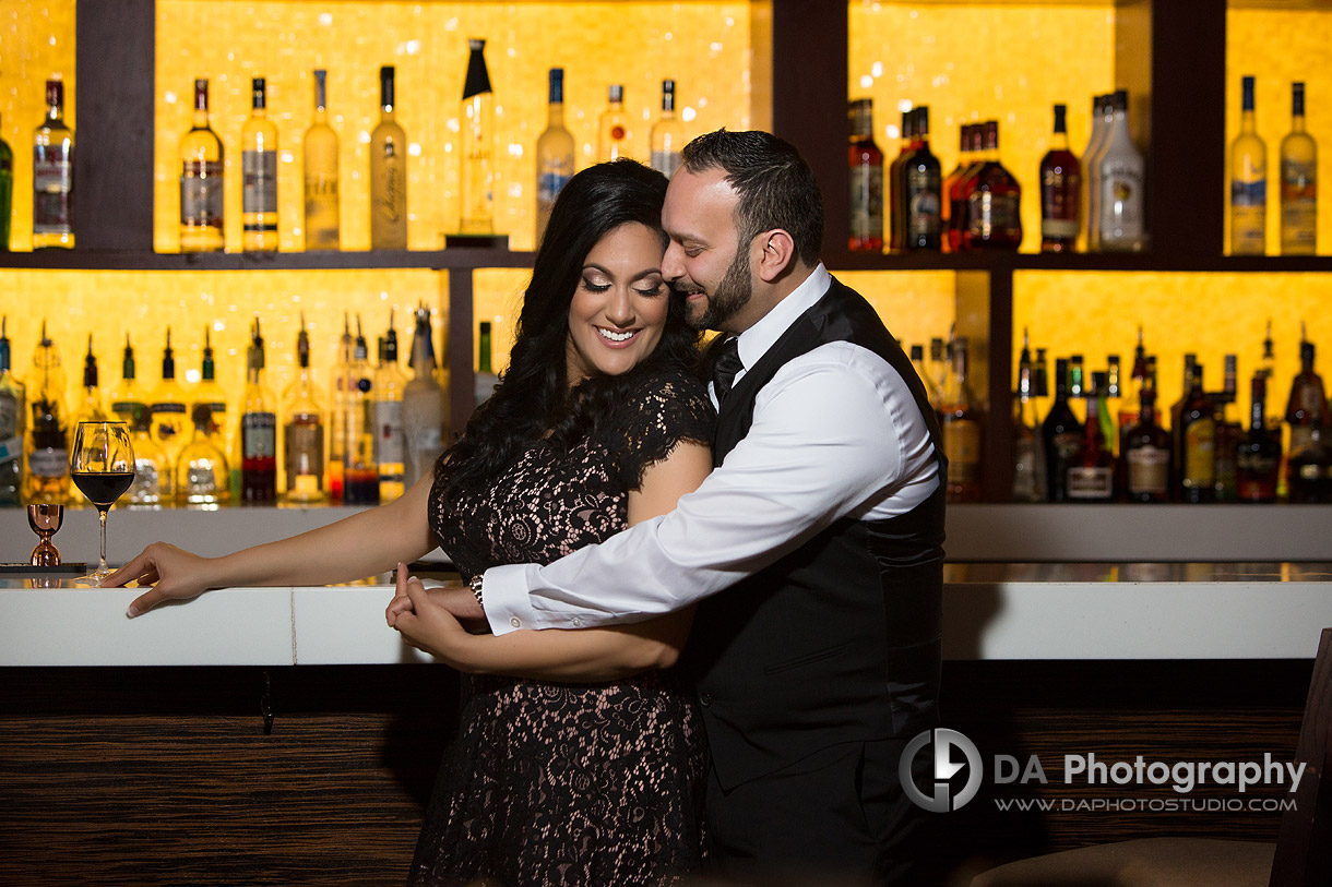 Engagement at Proof Bar in Toronto