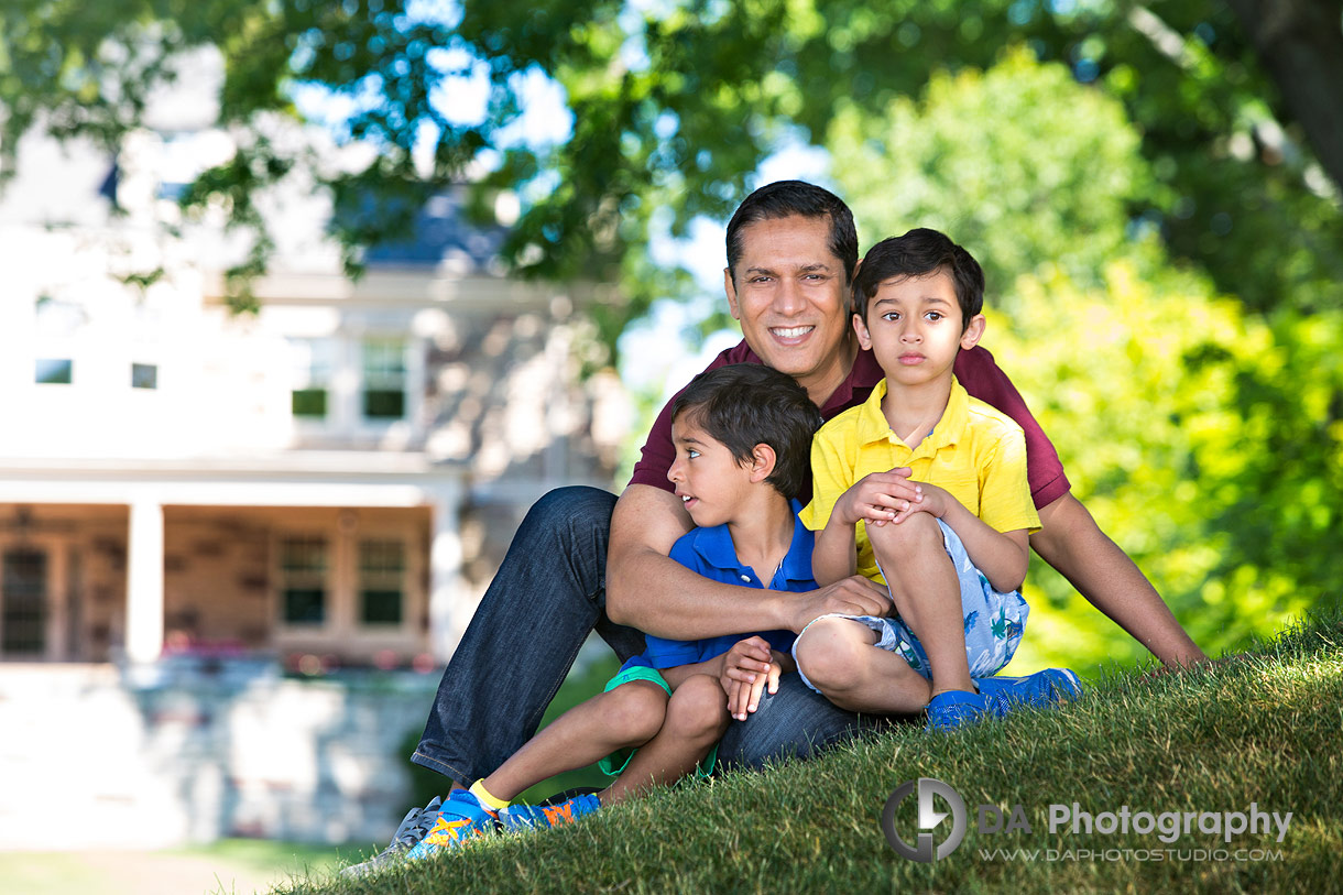 Father's Day Photos at Paletta Mansion