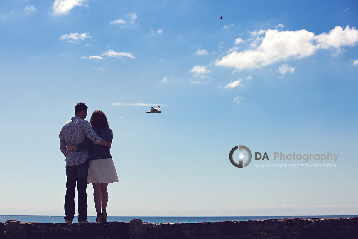Engagement photo at Gairloch Gardens