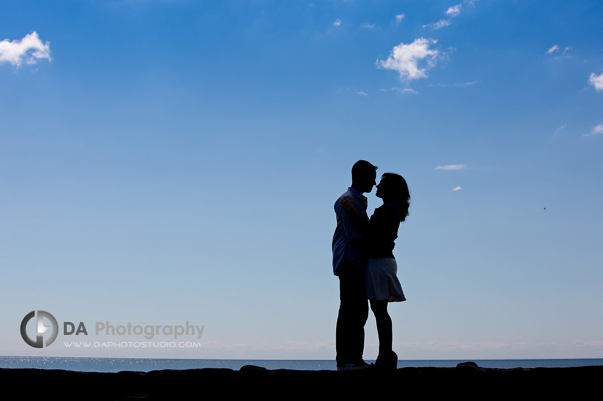 Engagement photos at Gairloch Gardens