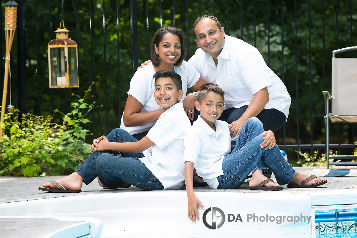 Summer Family Photos in Mississauga