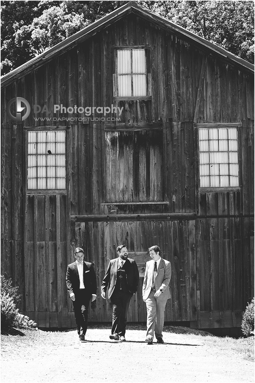 Groomsman at The Falls Inn and Spa