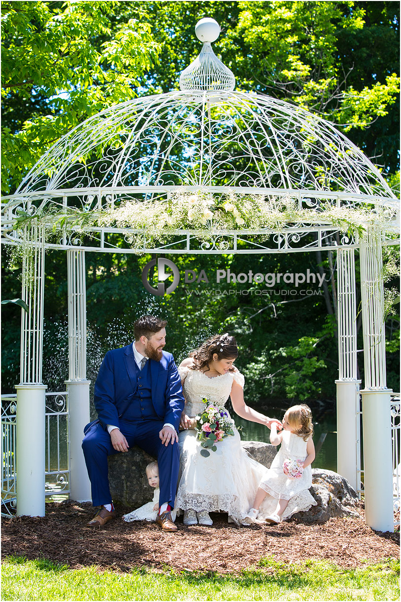 The Falls Inn and Spa Garden Wedding