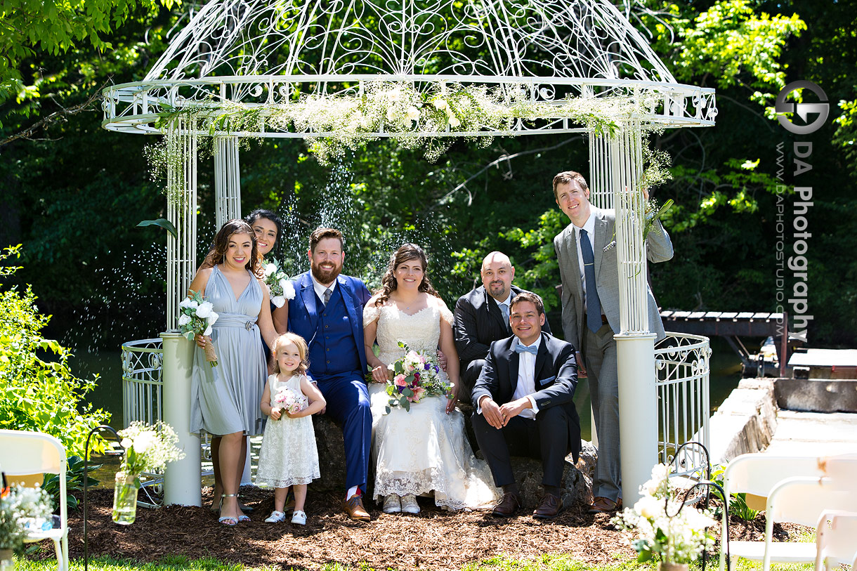 Garden Weddings at The Falls Inn and Spa